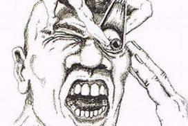 hoofdpijn achter oog