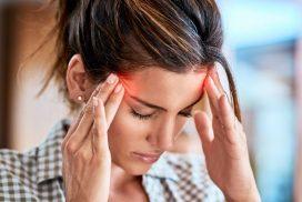 hoofdpijn boven oog